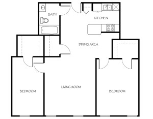 114-Ames-Privilege-Floor-Plan-2-Bedroom-1-Bathroom